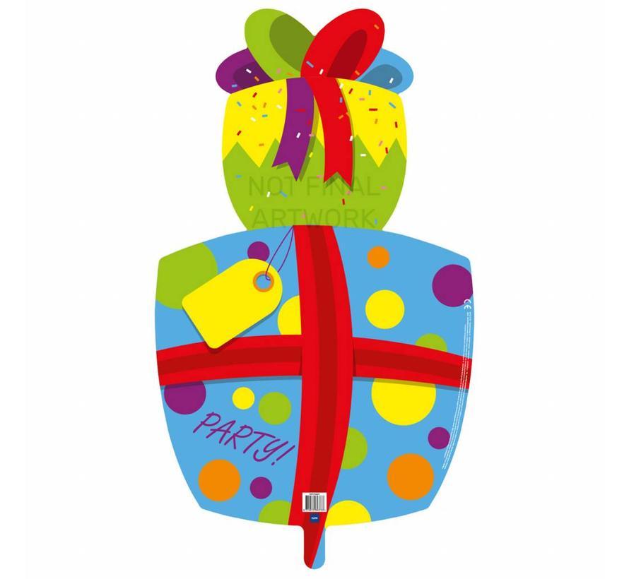 Ballonfiguur Cadeau