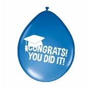 Congrats! You dit it! Geslaagd Ballonnen - 8 stuks