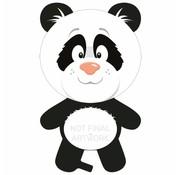 Ballonfiguur Panda - per stuk
