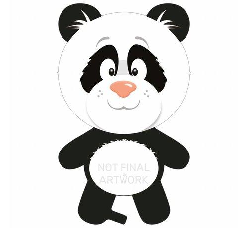 Ballonfiguur Panda 67cm - Per Stuk