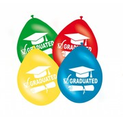 Geslaagd Ballonnen Graduated - 8 stuks