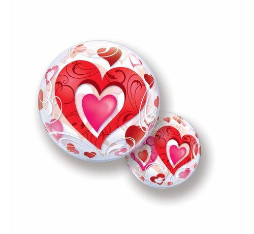Hartjes Ballon Bubbels - per stuk