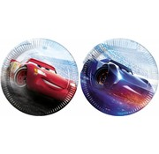 Disney Cars Legend Bordjes - 8 stuks
