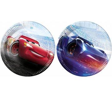 Disney Cars Legend Bordjes - 8 stuks