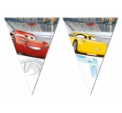 Disney Cars Vlaggenlijn - 200cm