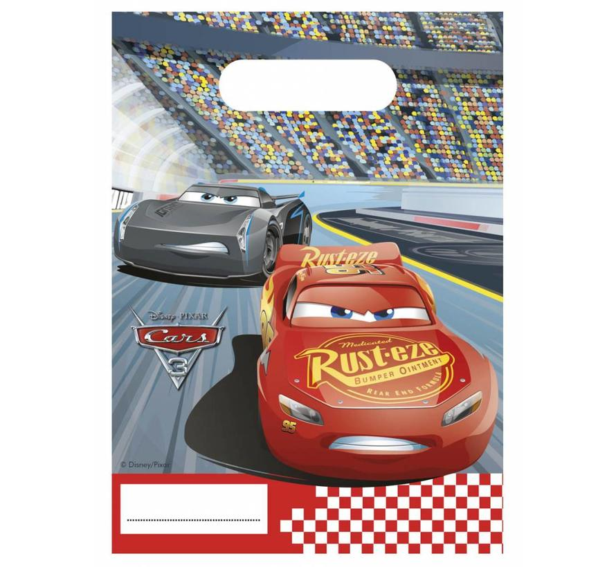 Disney Cars Uitdeelzakjes - 6 stuks