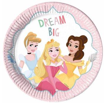Disney Prinsessen Dream Bordjes - 8 stuks