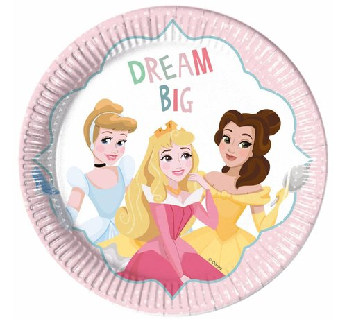 Disney Prinsessen Dream Bordjes - 8 stuks