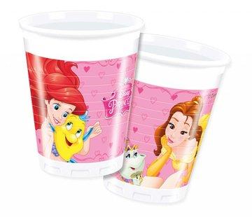 Disney Prinsessen Bekers - 8 stuks