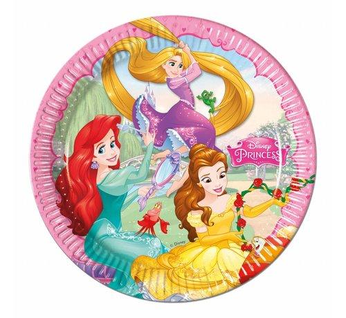 Disney Prinsessen Bordjes - 8 stuks