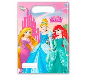 Disney Prinsessen Uitdeelzakjes - 6 stuks