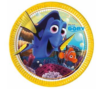 Disney Finding Dory Bordjes - 8 stuks