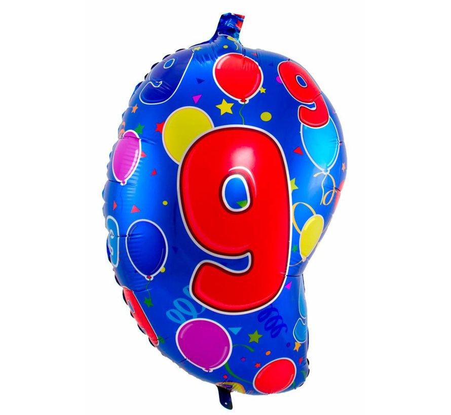 Latex Ballon Cijfer  - 56cm