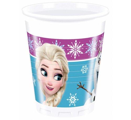 Disney Frozen Bekers - 8 stuks
