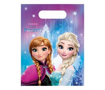 Disney Frozen Uitdeelzakjes - 6 stuks