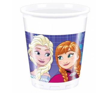 Disney Frozen Snowflakes Bekers - 8 stuks