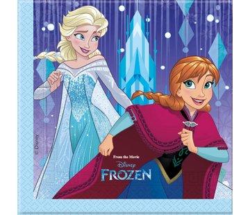 Disney Frozen Snowflakes Servetten - 20 stuks