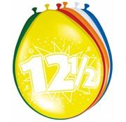 Verjaardag Ballonnen 12,5 jaar - 8 stuks