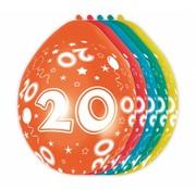 Verjaardag Ballonnen 20 jaar 30 cm - 5 stuks