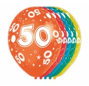 Verjaardag Ballonnen 50 jaar - 5 stuks