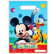 Disney Mickey Mouse Uitdeelzakjes - 6 stuks