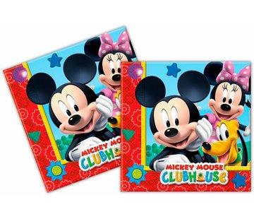 Disney Mickey Mouse  Servetten - 20 stuks