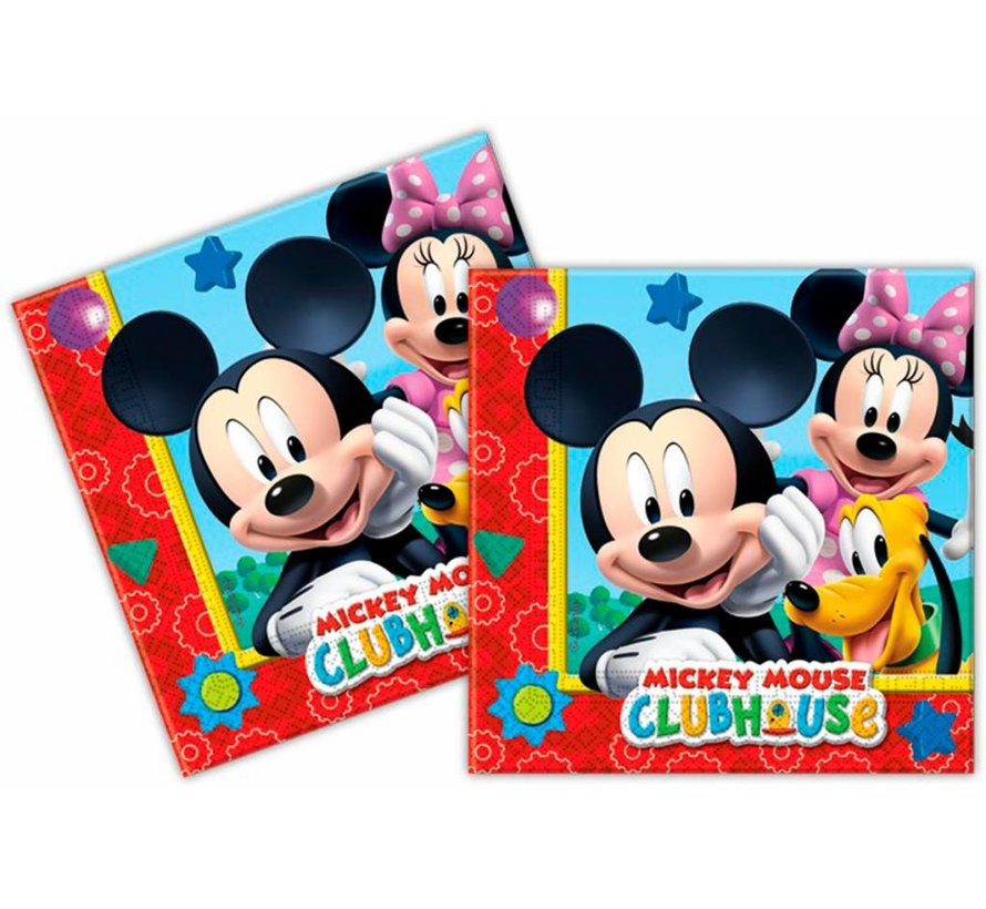 Disney Mickey Mouse  Servetten - 20 stuks
