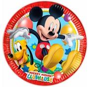 Disney Mickey Mouse Bordjes- 8 stuks