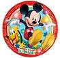 Disney Mickey Mouse Bordjes - 8 stuks