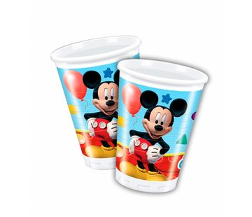 Disney Mickey Mouse Bekers - 8 stuks