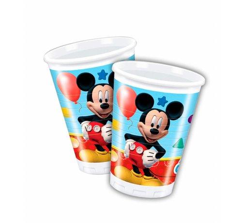 Disney Mickey Mouse Bekers - 8 stuks