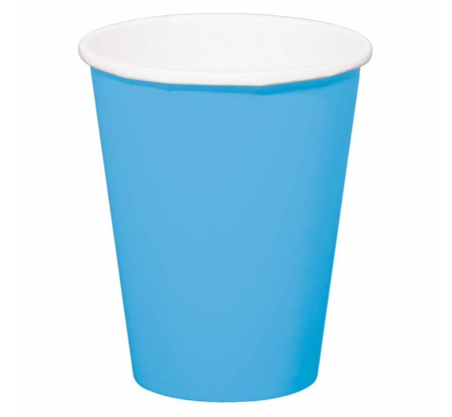 Beerpong Bekers Blauw - 8 stuks