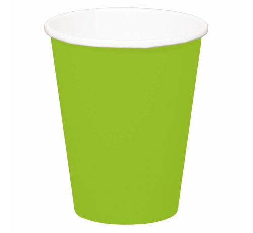 Beerpong Bekers Groen - 8 stuks