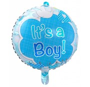 Folie Ballon It s a Boy 43cm - per stuk