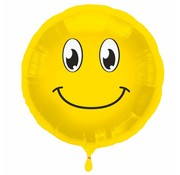 Folie Ballon Happy Emoji - per stuk