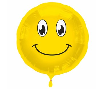 Folie Ballon Happy Emoji 45cm - per stuk