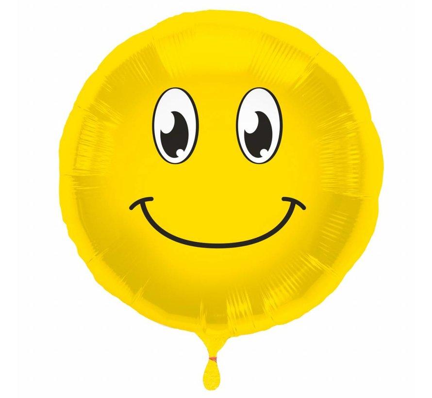 Folie Ballon Happy Emoji - per stuk