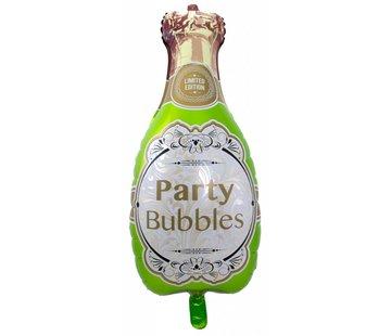 Folie Ballon Champagne Fles - per stuk