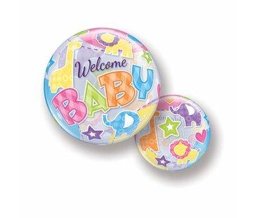 Folie Ballon Welcome Baby - per stuk