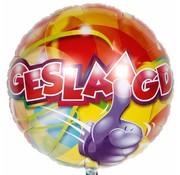 Folie Ballon Geslaagd - per stuk