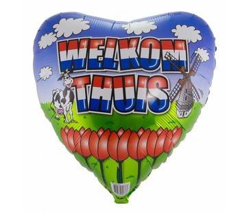 Folie Ballon Welkom Thuis - per stuk