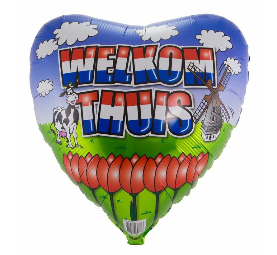 Folie Ballon Welkom Thuis - 46cm