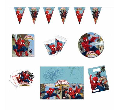Feestpakket Spiderman - per stuk