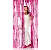 Deurgordijn Folie Roze - per stuk