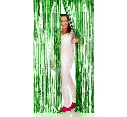 Deurgordijn Folie Groen - per stuk