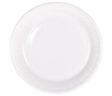 Wegwerp Bordjes Wit - 8 stuks
