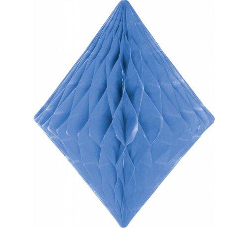 Honeycomb Diamant Baby Blauw 30 cm - per stuk