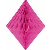 Honeycomb Diamant Magenta 30 cm - per stuk