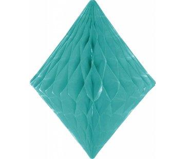 Honeycomb Diamant Mint Groen 30 cm - per stuk