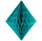 Honeycomb Diamant Turquoise - per stuk